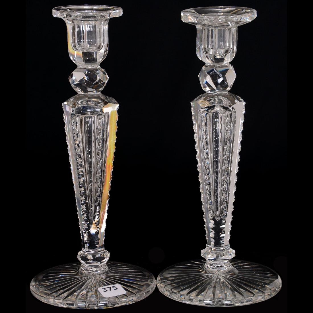 Pair Candle Holders - ABCG
