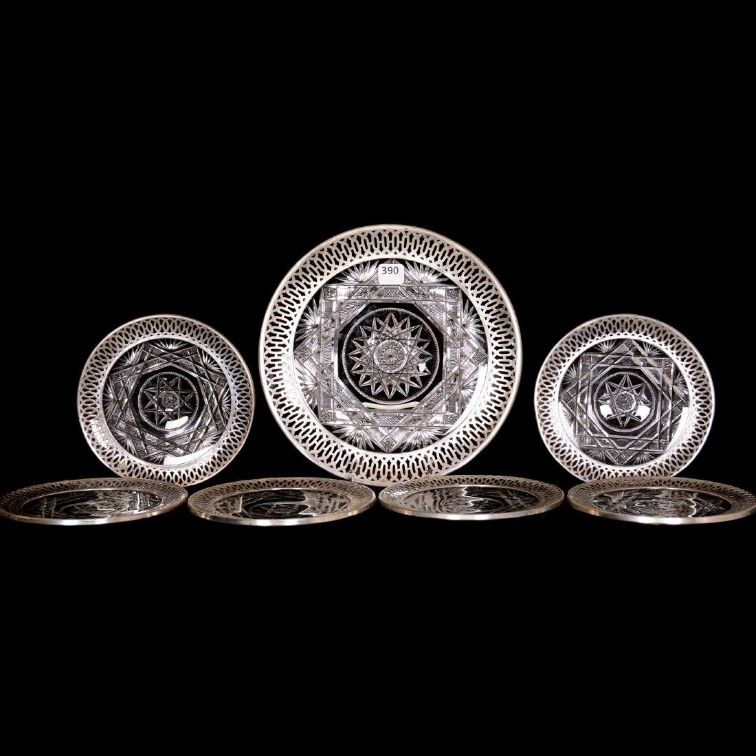 Dessert Set with Sterling - ABCG