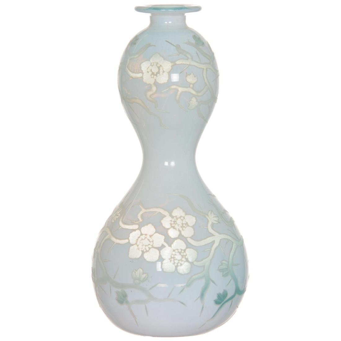 Stevens & Williams Art Glass Vase