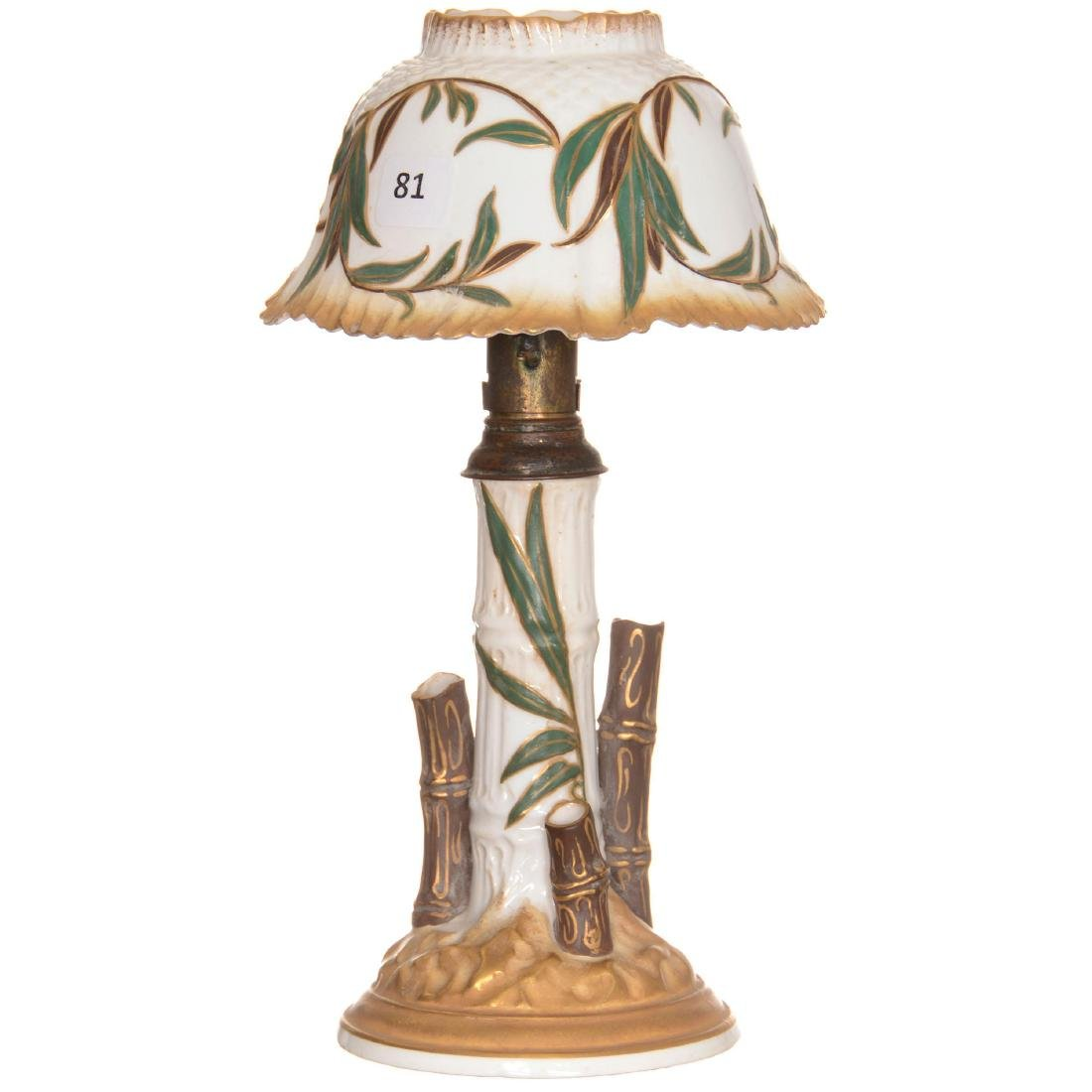 Foley China Candle Lamp