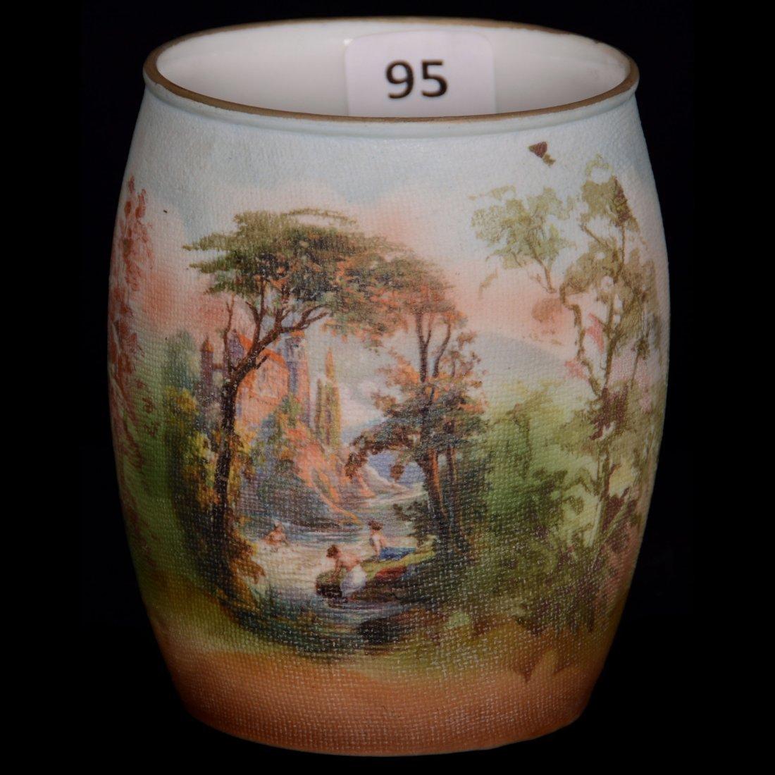 Royal Bayreuth Tapestry Vase