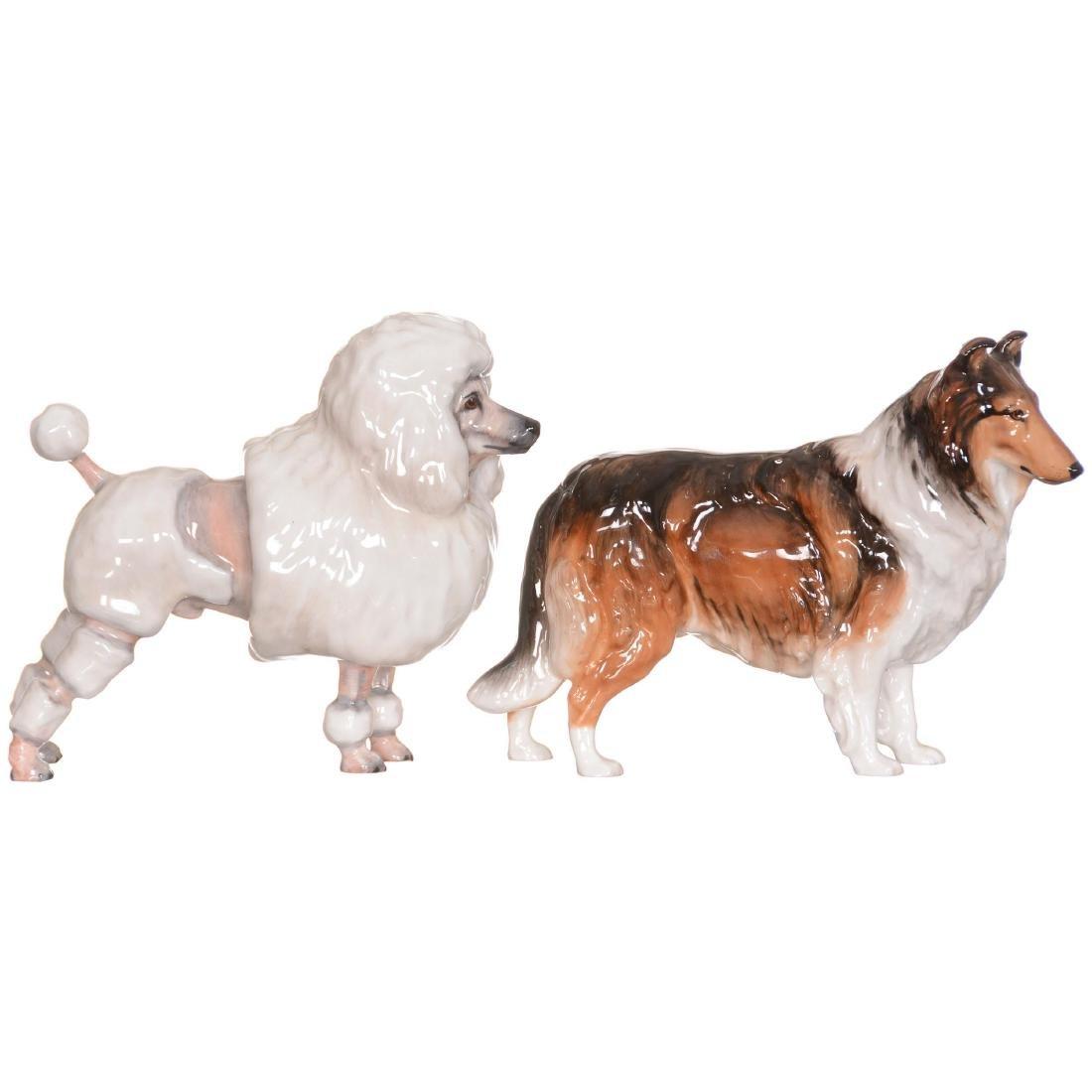 (2) Royal Doulton Dog Figurines