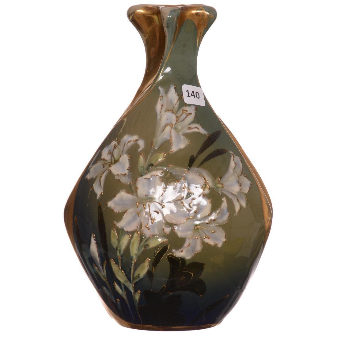 Amphora Teplitz Vase