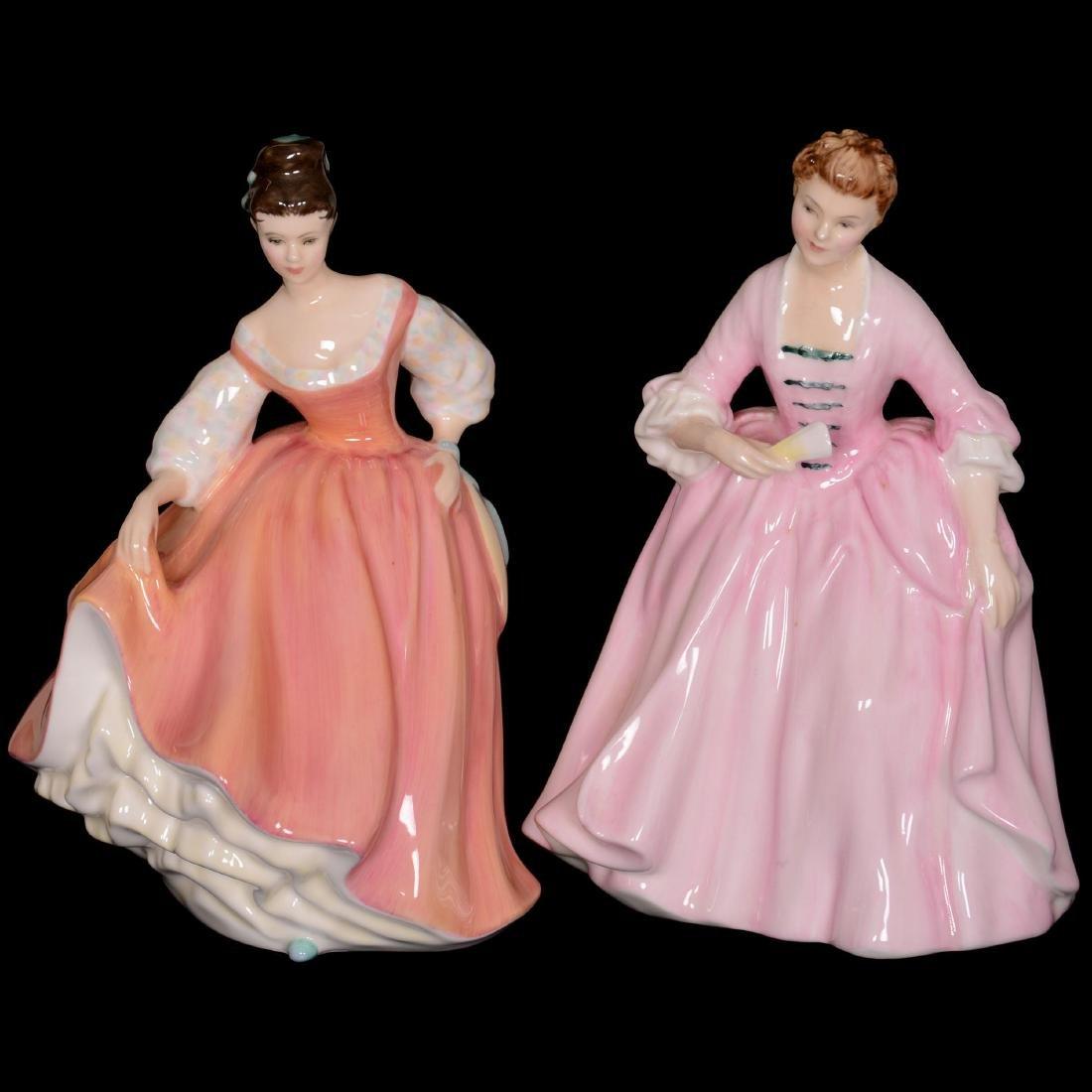 (2) Royal Doulton Figurines
