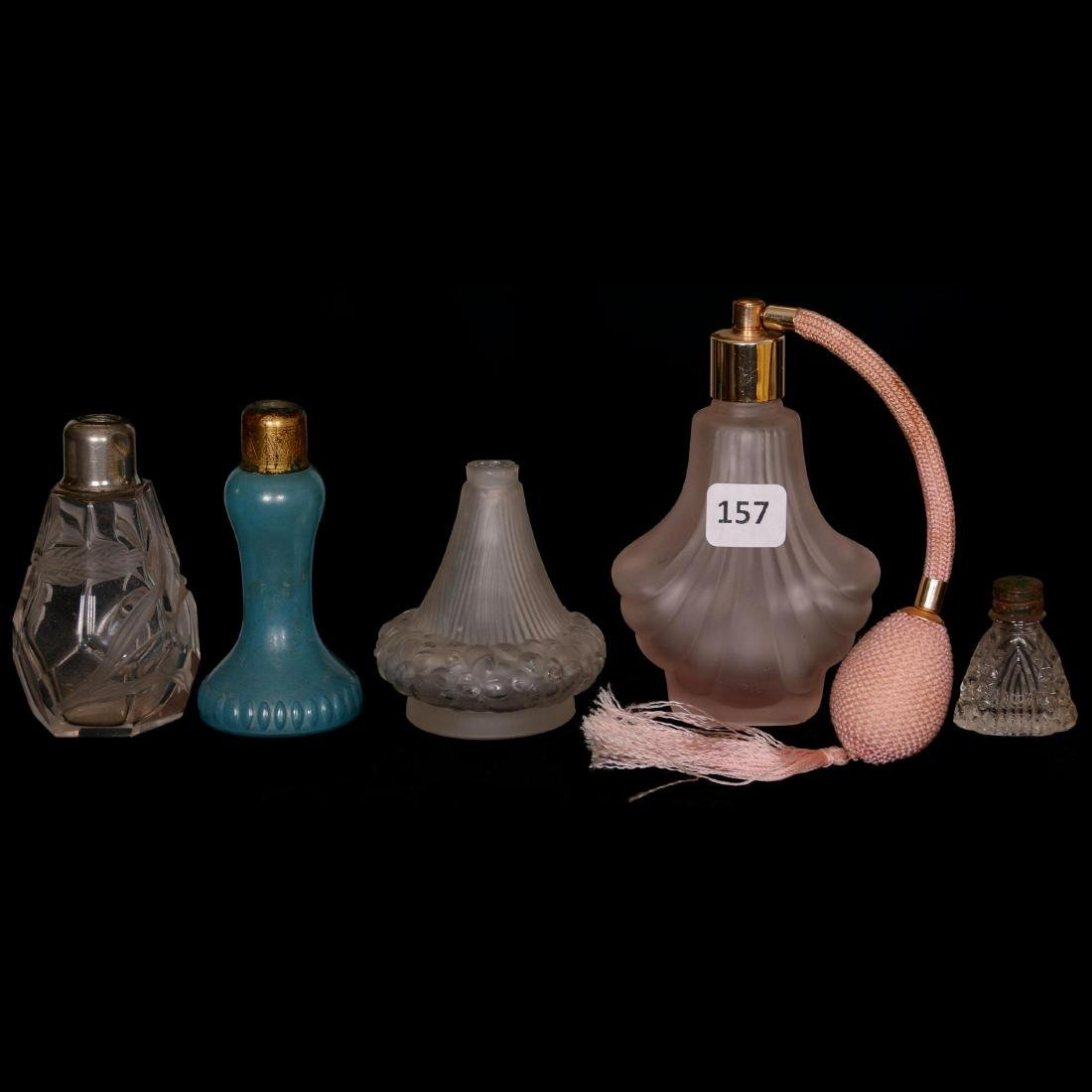 (5) Assorted Perfume Bottles