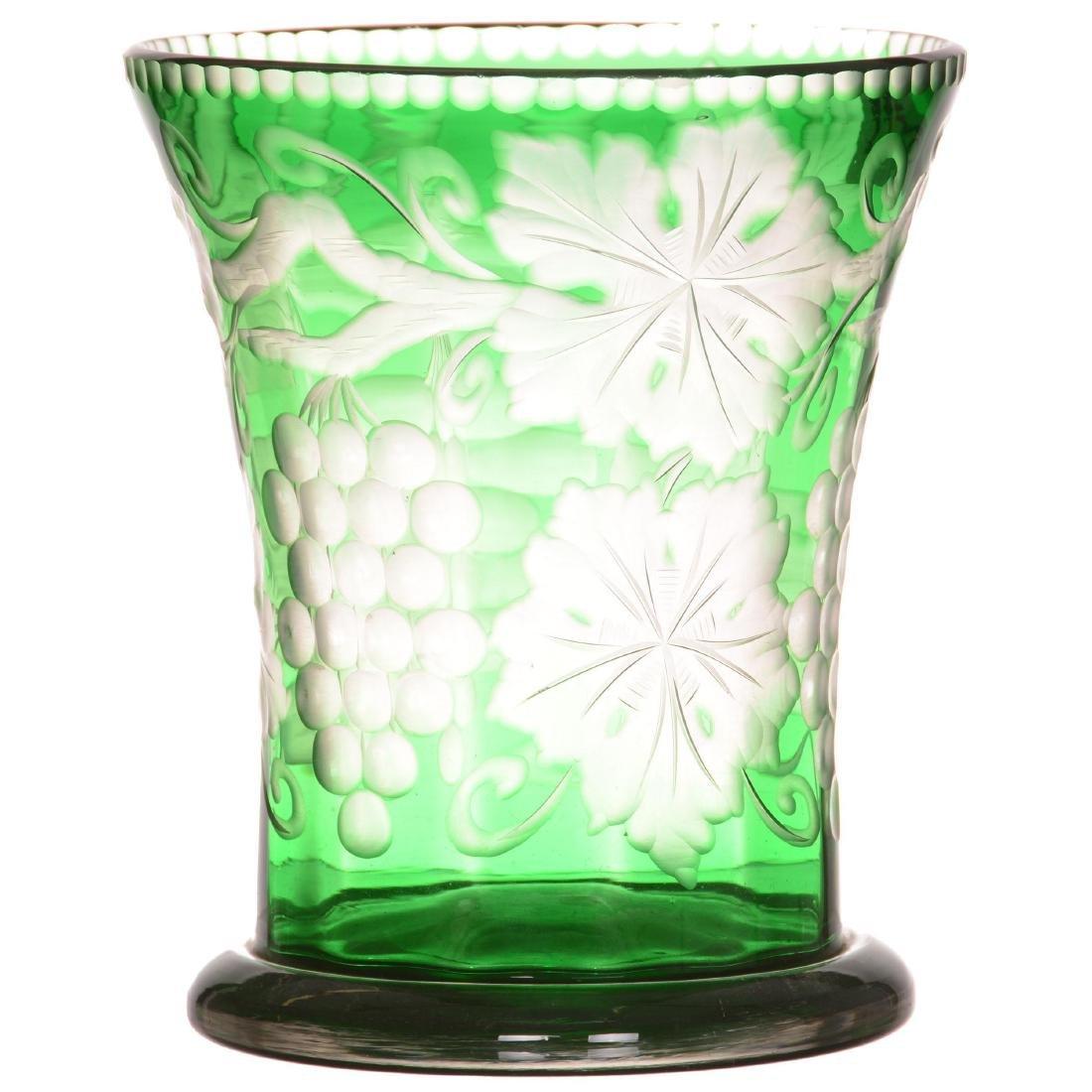 Stevens and Williams Art Glass Vase
