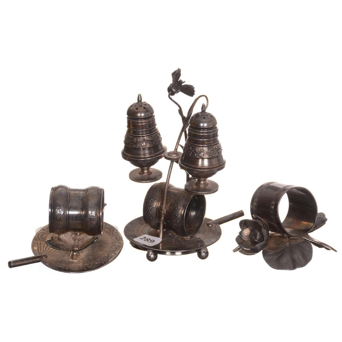 (3) Silverplate Items