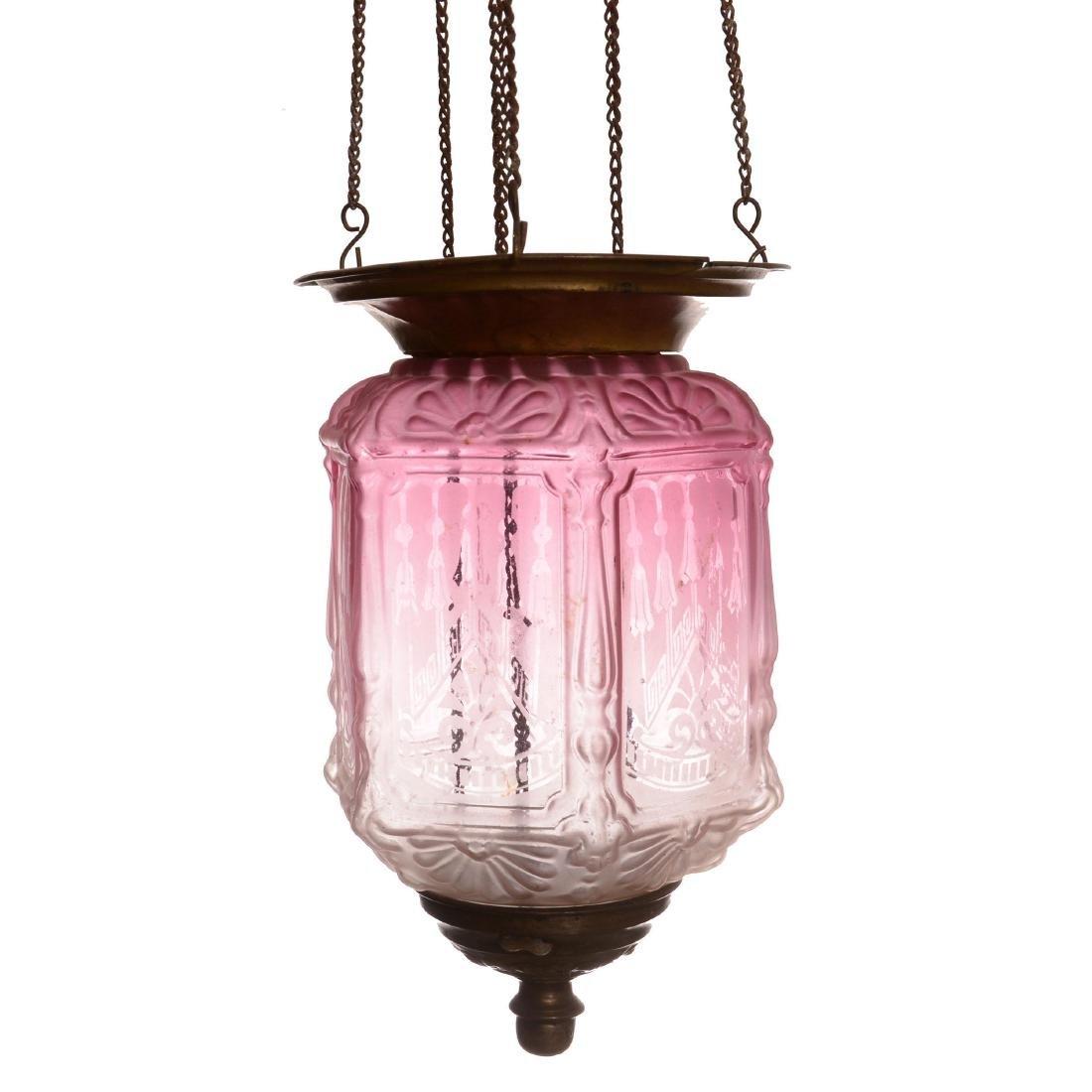 Hanging Hall Light Fixture