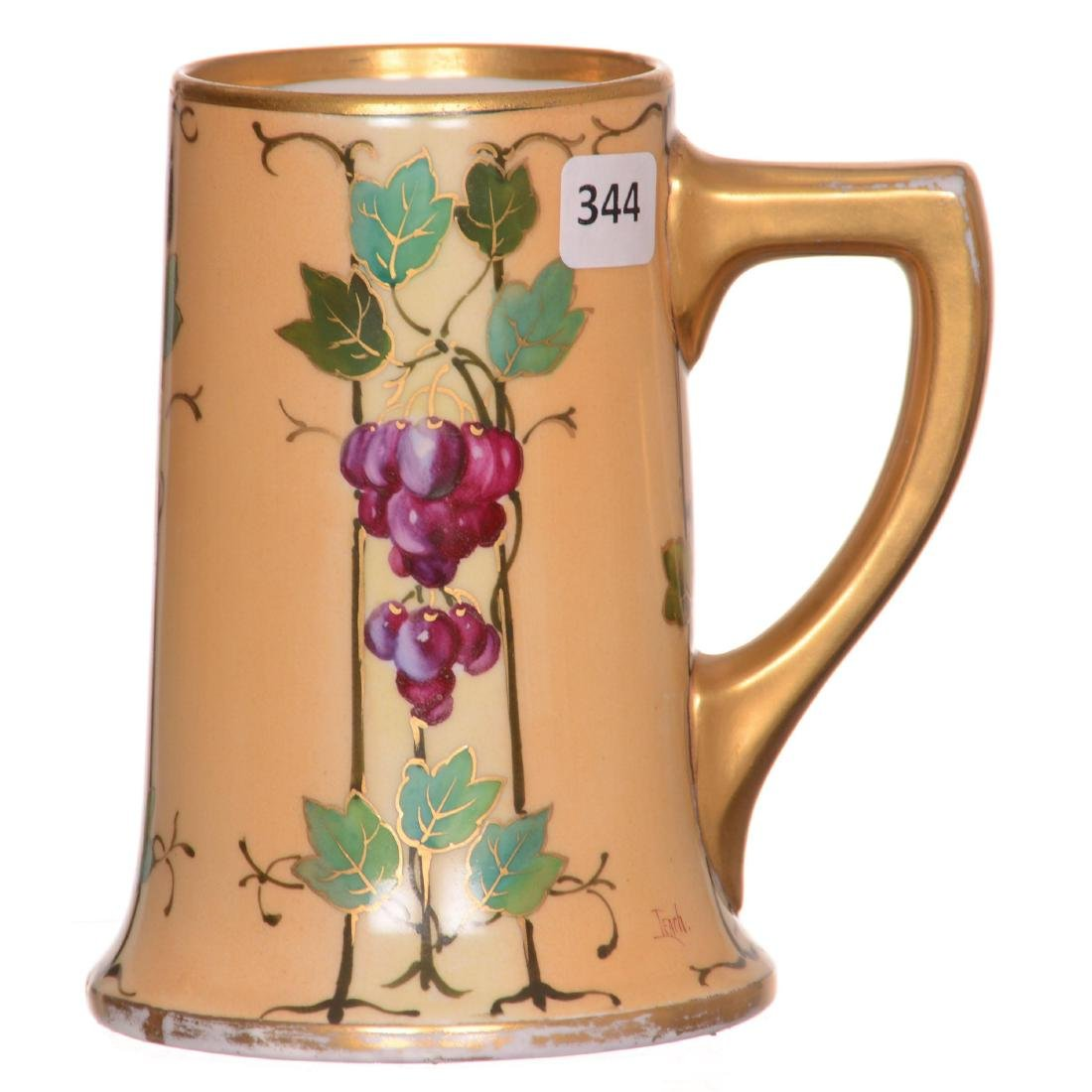 Pickard Handpainted Mug