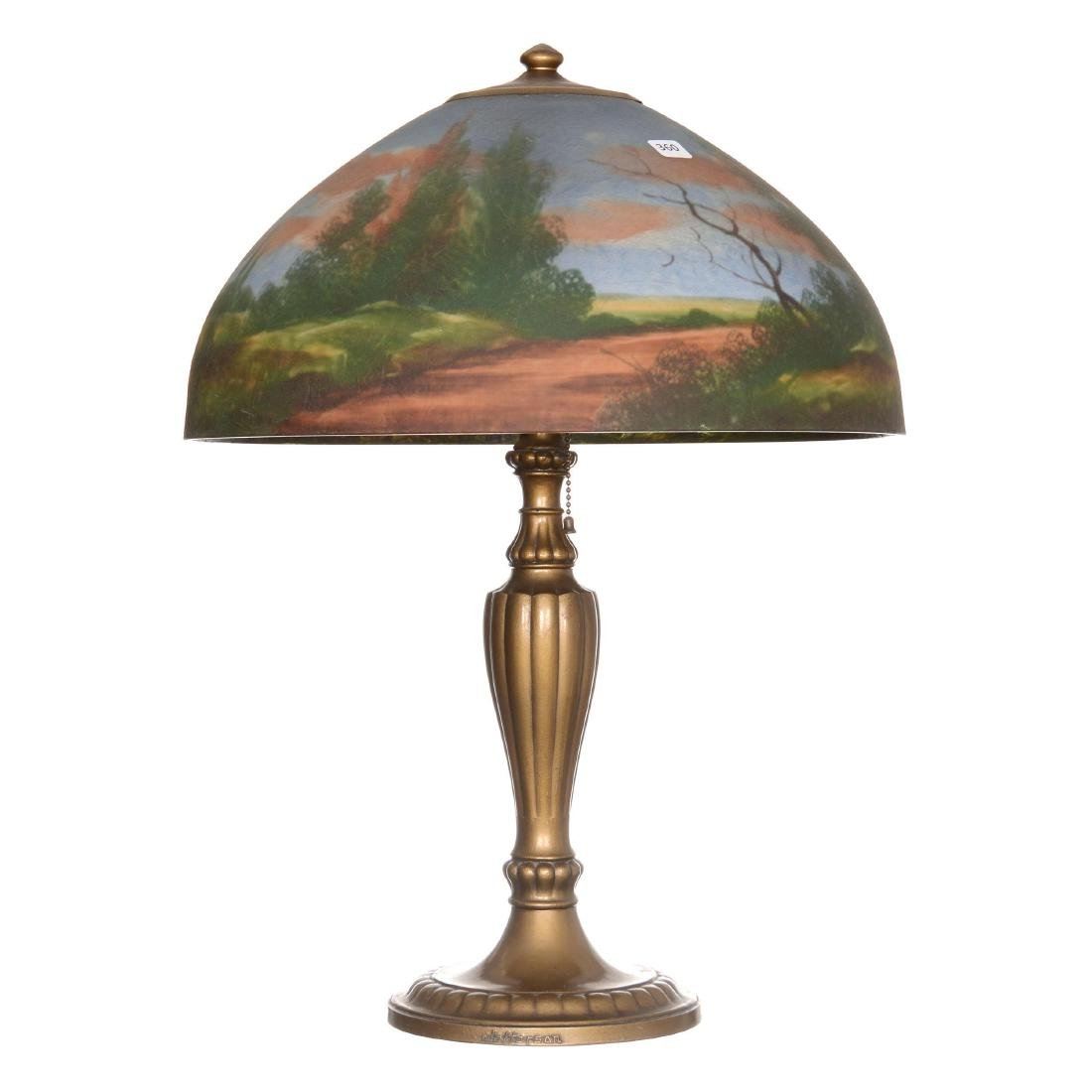 Signed Jefferson Table Lamp