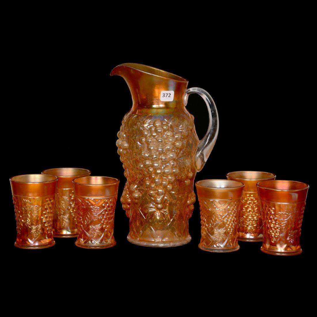 Carnival Glass Waterset