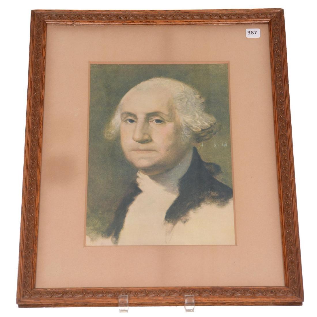 (2) Framed Presidential Prints