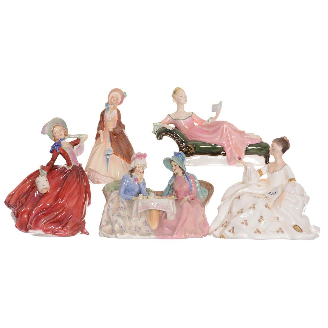 (5) Royal Doulton Figurines