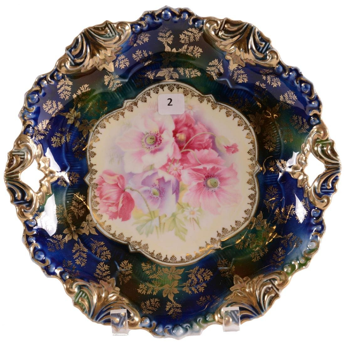 Cake Plate - Marked R.S. Prussia