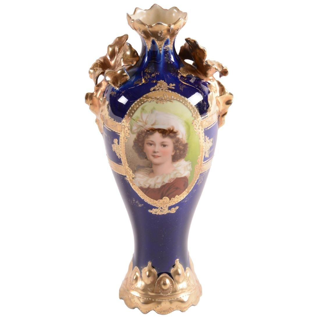 Vase - Unmarked Royal Vienna