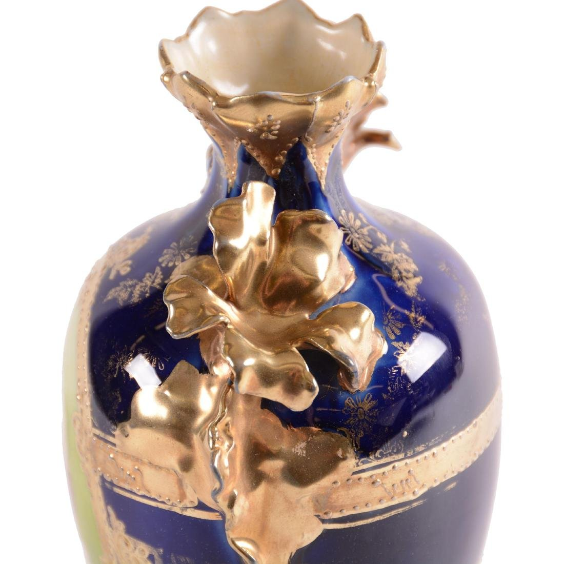 Vase - Unmarked Royal Vienna - 3