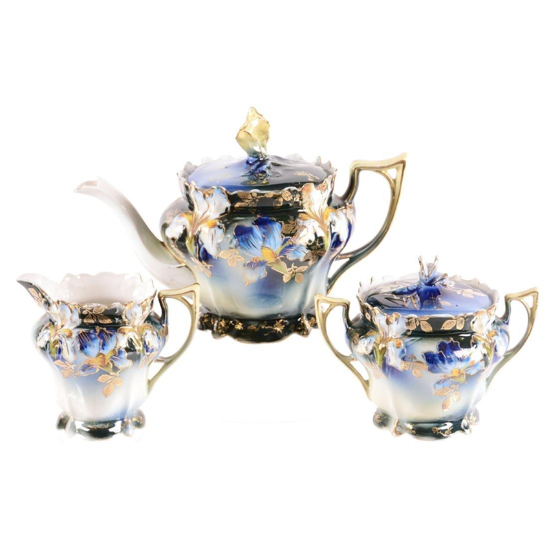 Tea Set - Unmarked
