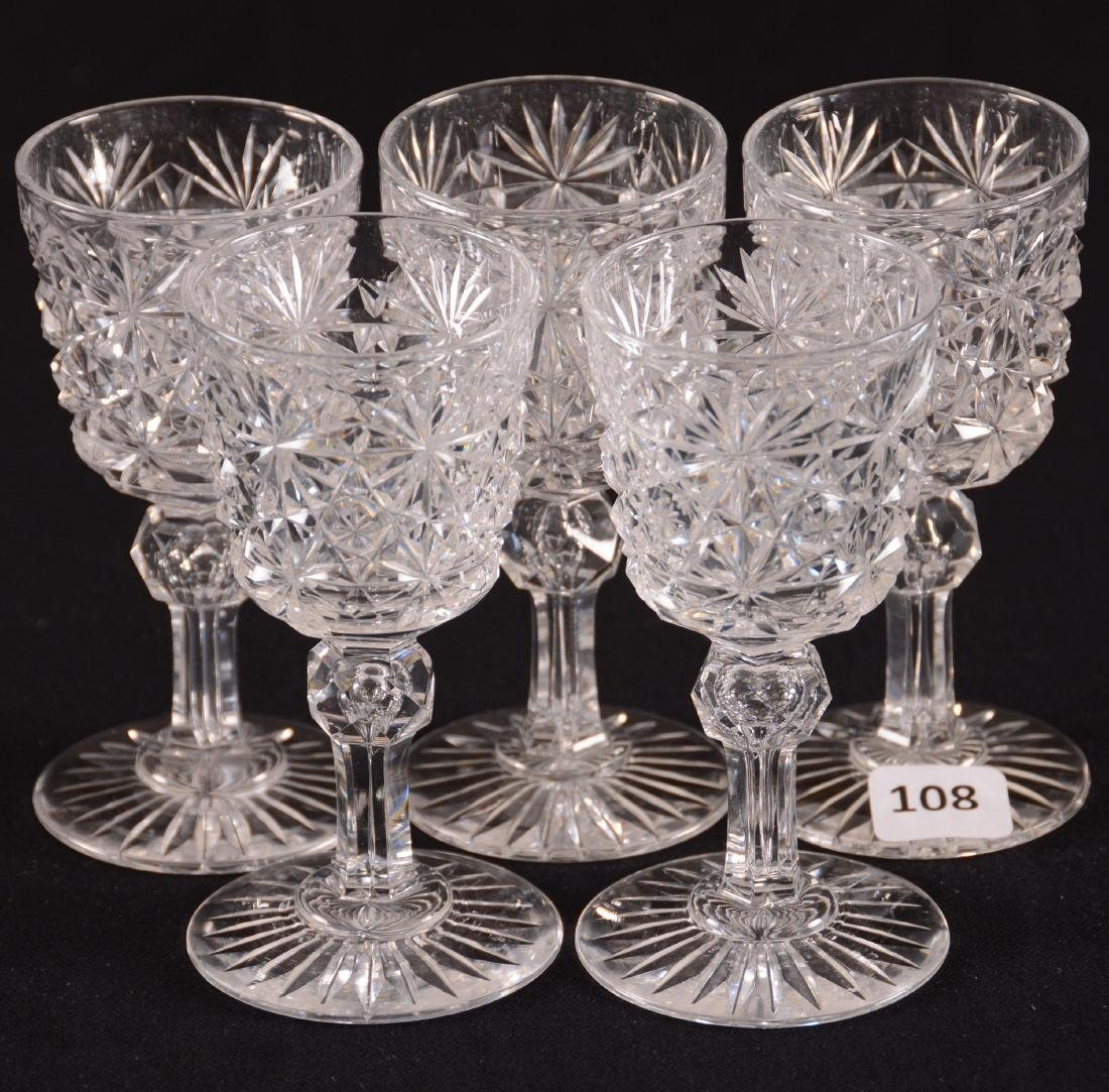 (5) Wine Glasses - BPCG