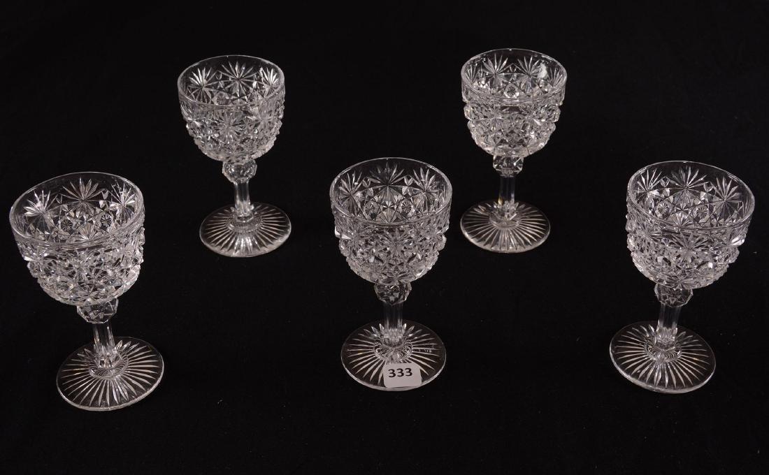 (5) Wine Glasses - BPCG