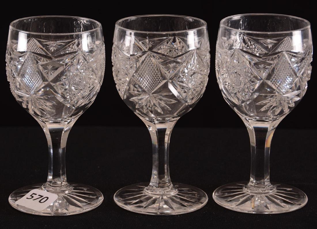 (3) Wine Glasses - BPCG