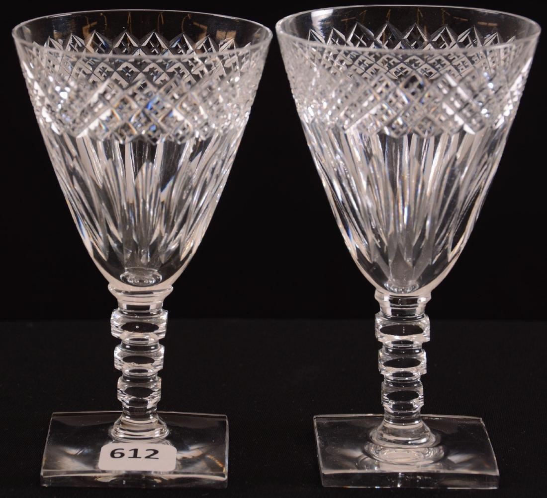 (2) Wine Glasses - BPCG