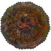 Carnival Glass Plate  95