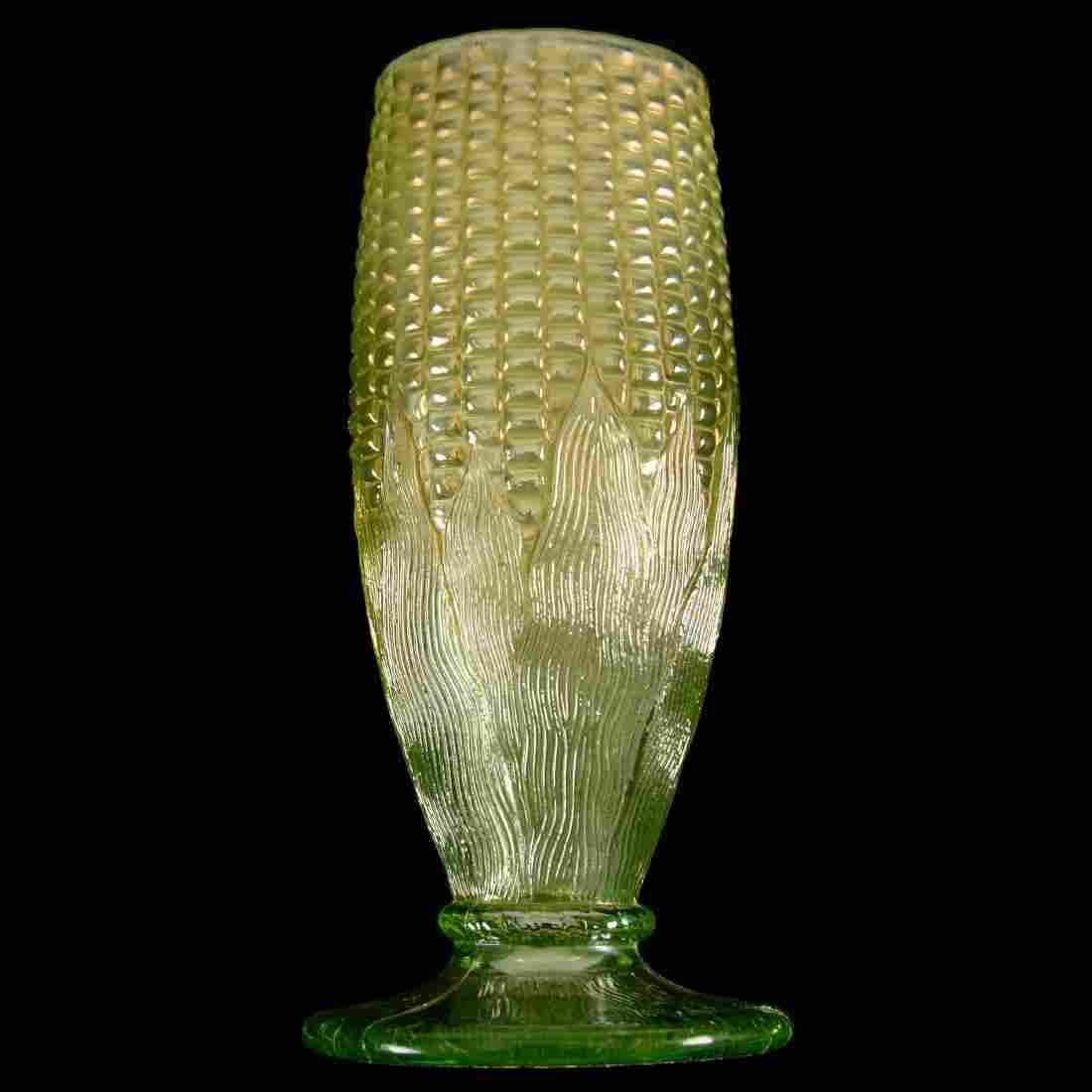 """Carnival Glass Vase - 6.5"""""""