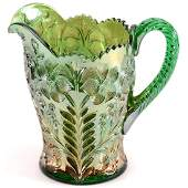 Carnival Glass Water Pitcher  85