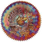 Carnival Glass Plate  9