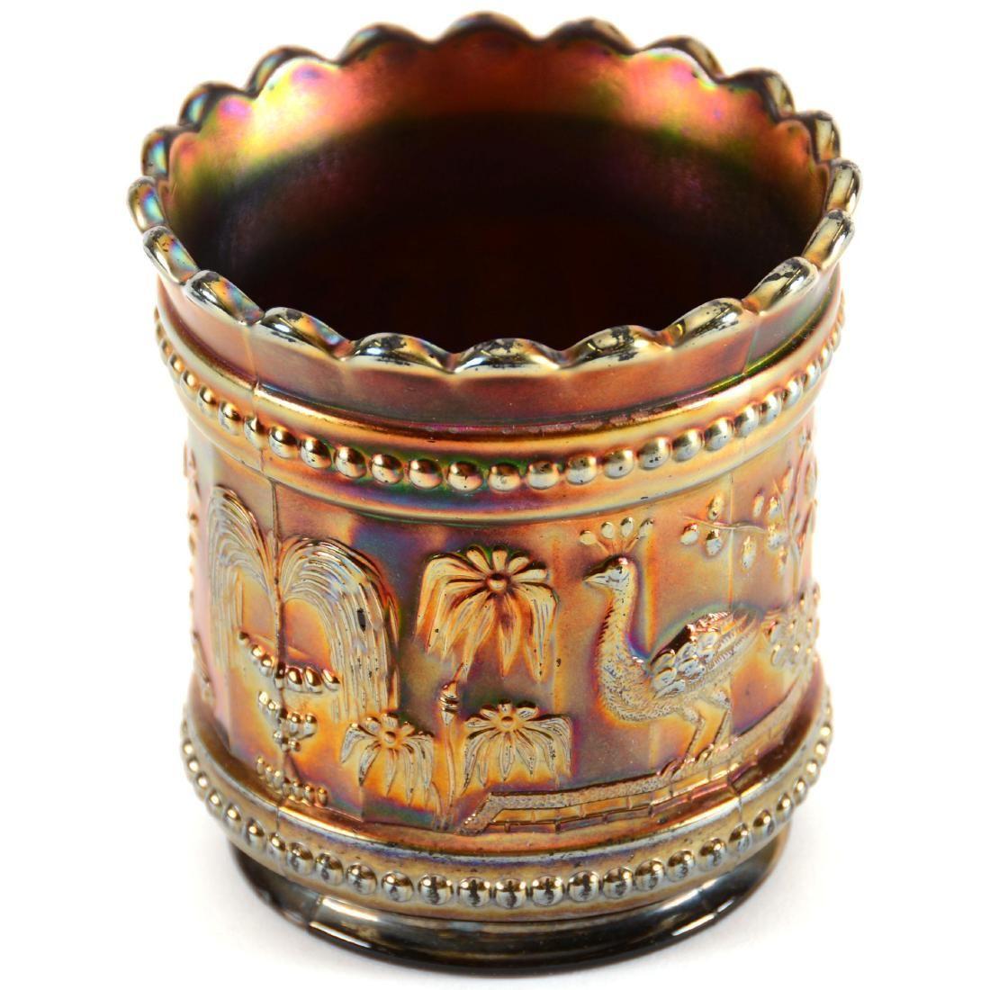 Carnival Glass Spooner
