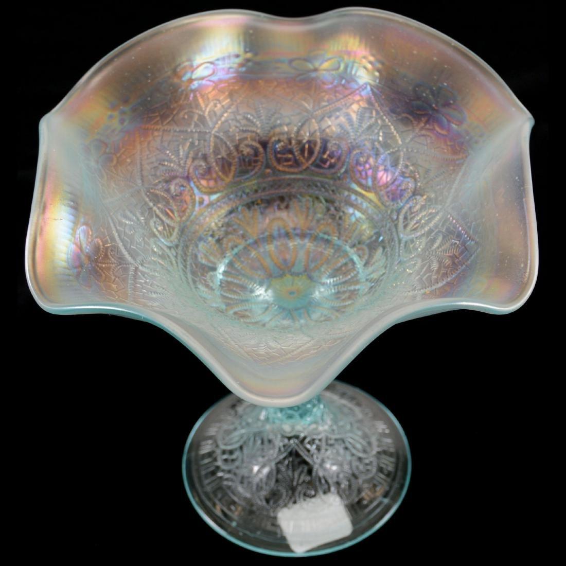"""Carnival Glass Compote - 6"""" - 2"""