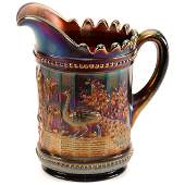 Carnival Glass Water Pitcher  875