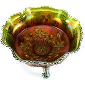 Carnival Glass Master Berry Bowl  95