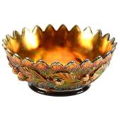 Carnival Glass Bowl  375 X 925