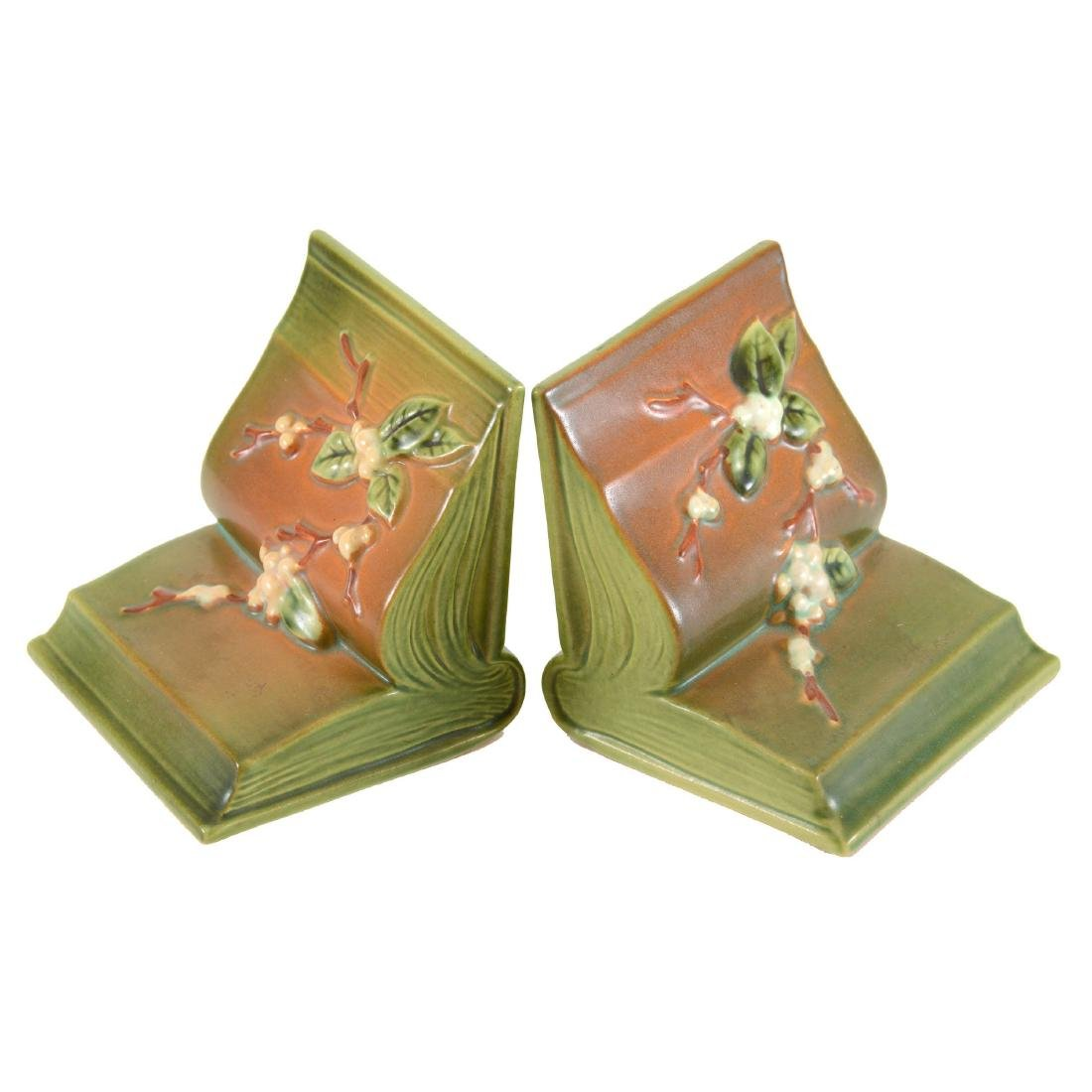 Roseville Art Pottery Bookends