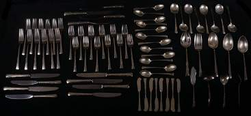 Gorham Sterling Silver Flatware Set - (74) Pieces