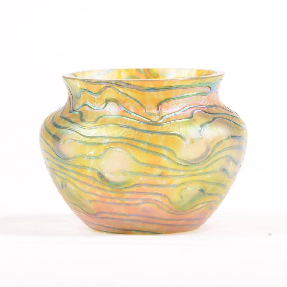 "Vase - Art Glass - 2.5"" X 3.5"""