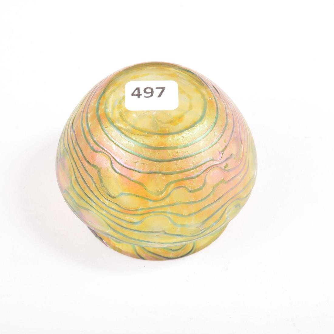 "Vase - Art Glass - 2.5"" X 3.5"" - 2"