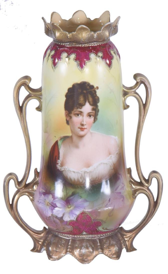 "Vase - Royal Vienna Mark - 11"""