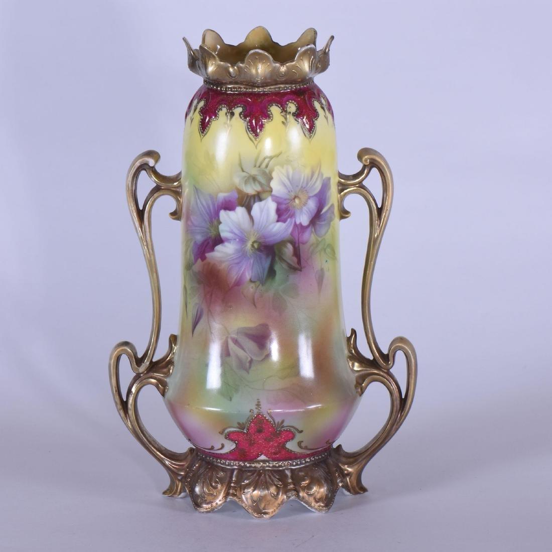 "Vase - Royal Vienna Mark - 11"" - 2"