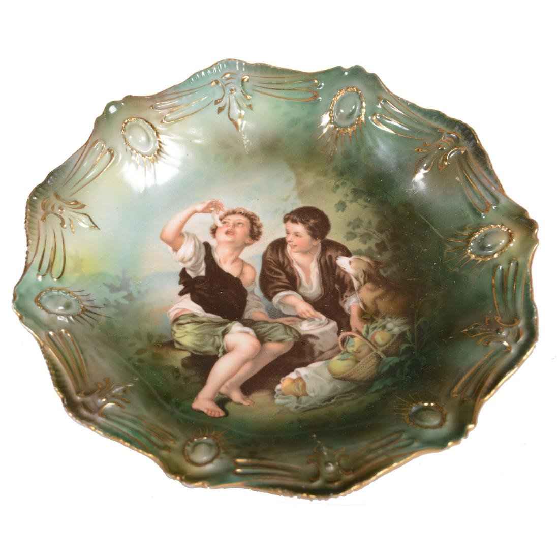 """Plate - Unmarked Prussia - 8.5"""""""