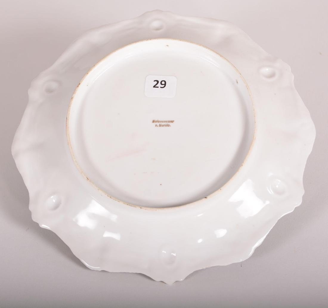 """Plate - Unmarked Prussia - 8.5"""" - 2"""