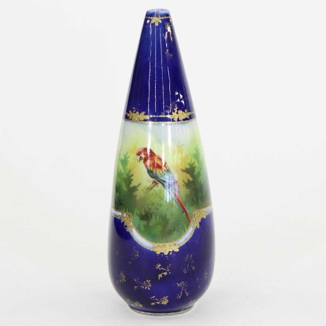 """Vase - Unmarked Prussia - 9"""" - 2"""