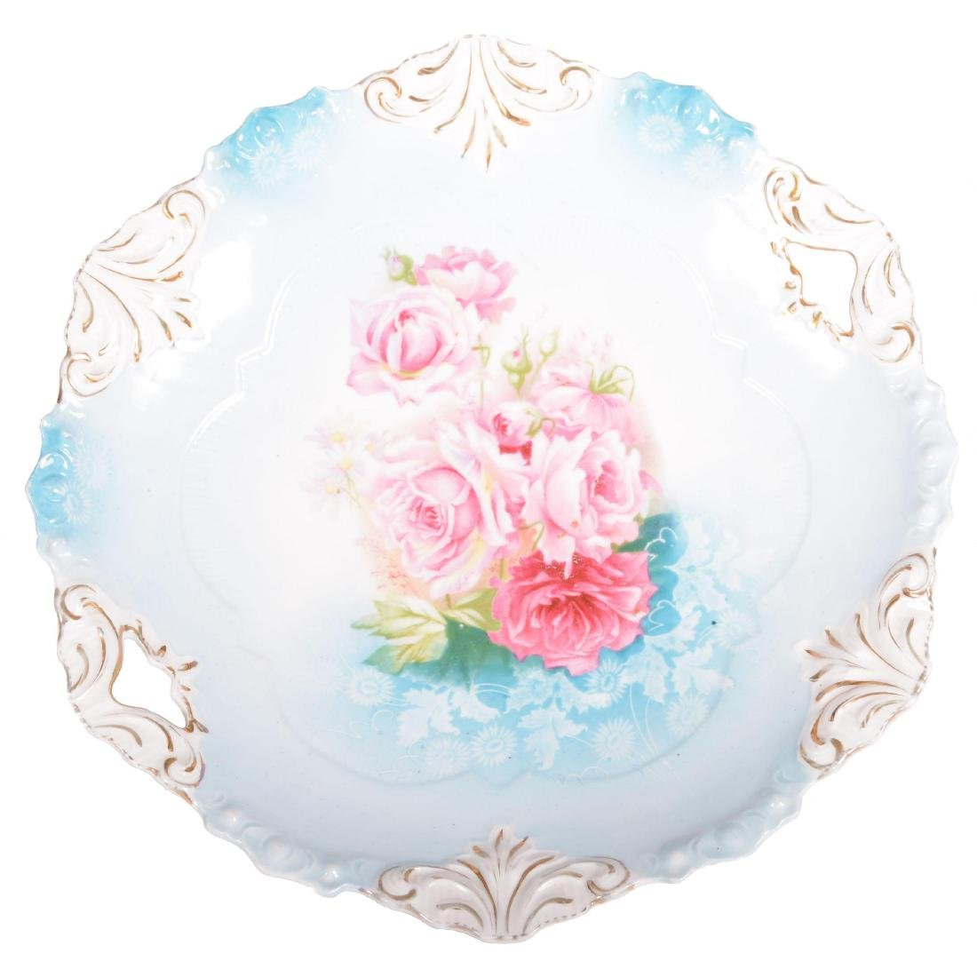 Cake Plate - Marked R.S. Prussia - 9.75""