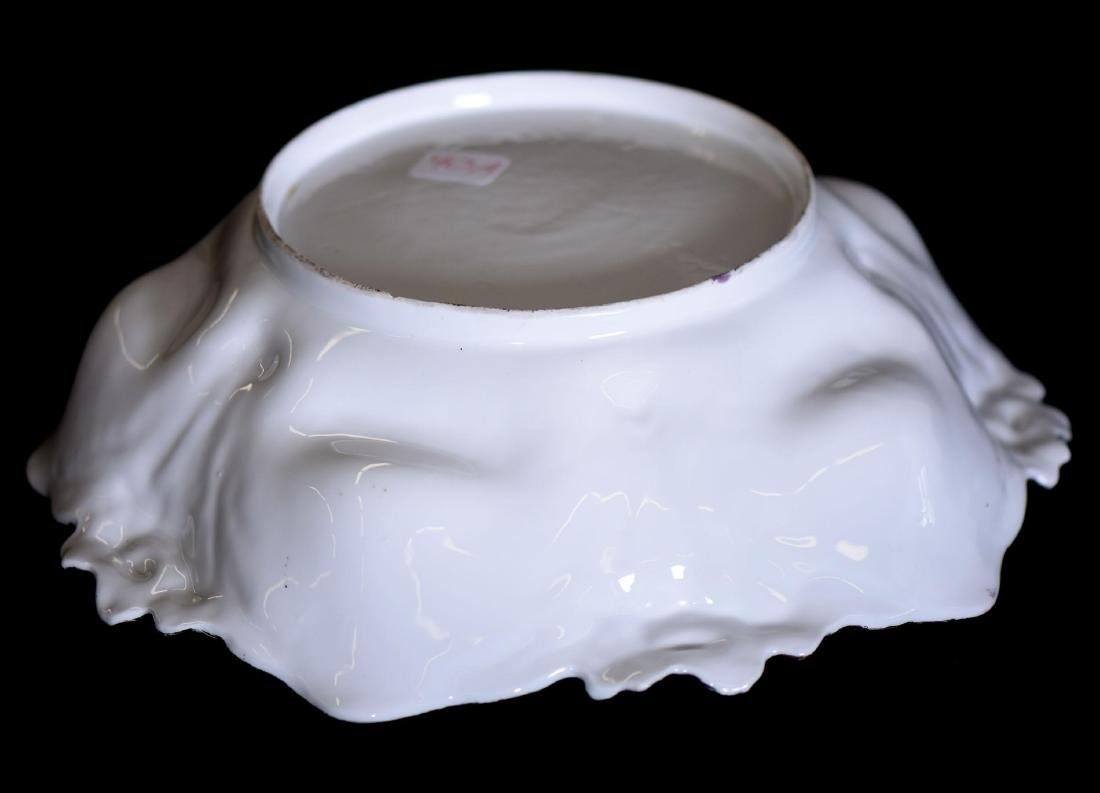 """Bowl - Unmarked Prussia - 10.5"""" - 3"""