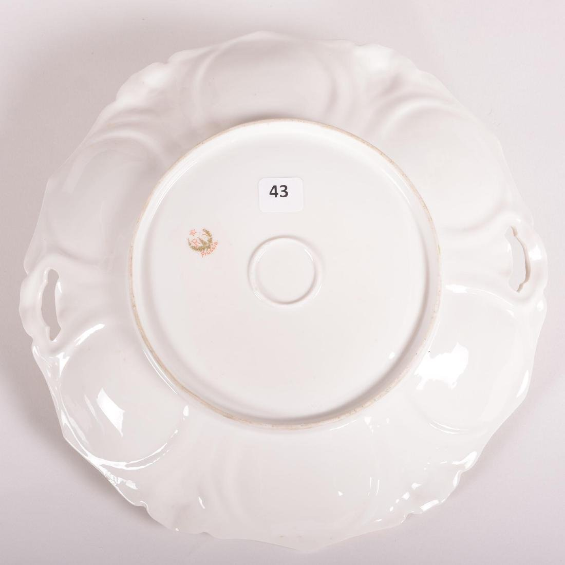 """Cake Plate - Marked R.S. Prussia - 11"""" - 2"""