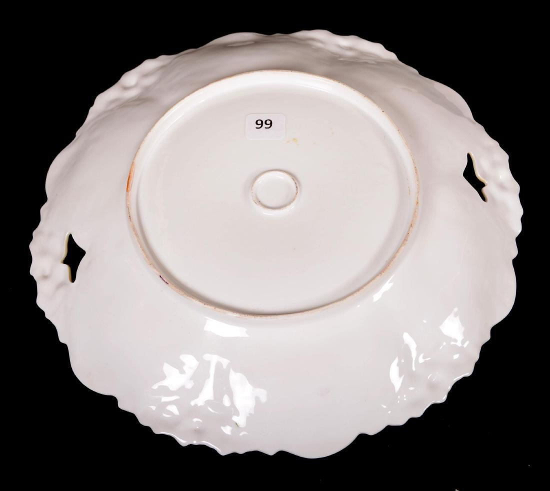 """Cake Plate - Unmarked Prussia - 11"""" - 3"""