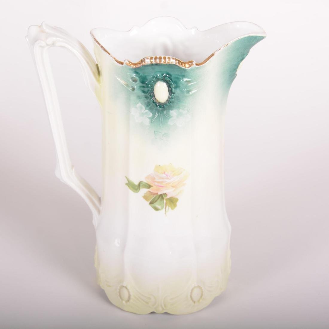 "Pitcher - Marked R.S. Prussia - 9.5"" - 2"