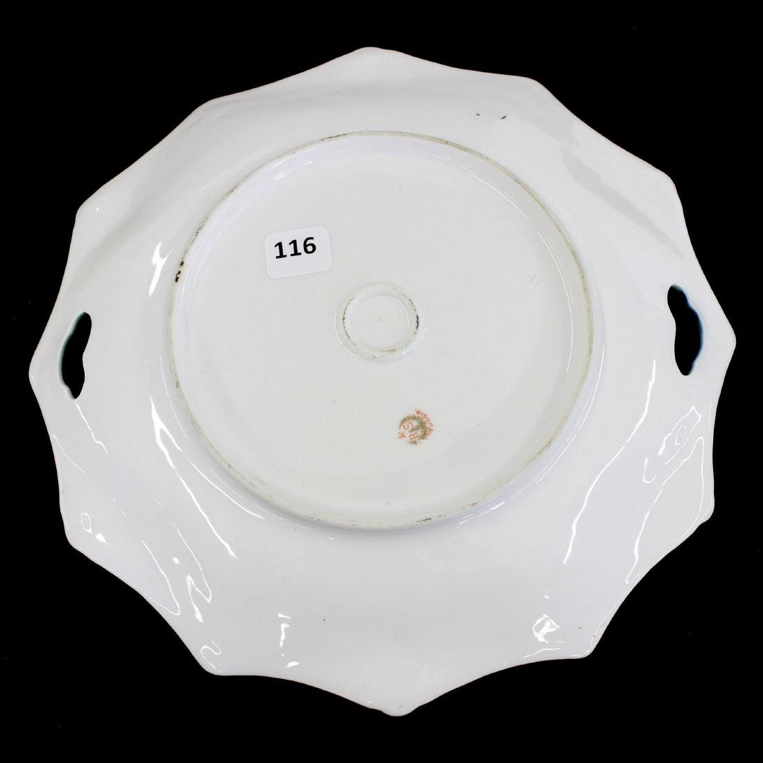 """Cake Plate - Marked R.S. Prussia - 9.75"""" - 2"""