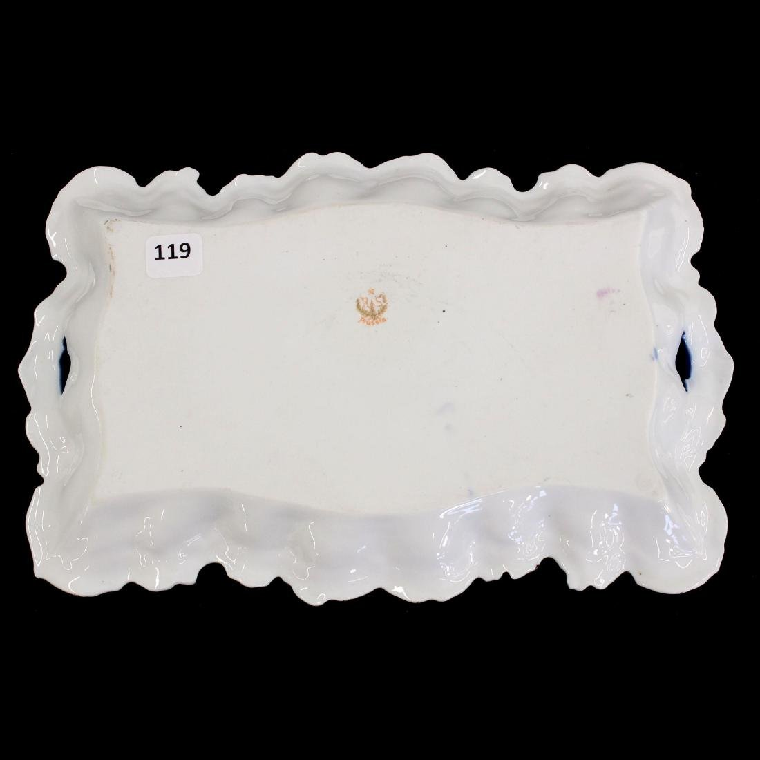 """Dresser Tray - Marked R.S. Prussia - 11.25"""" - 2"""